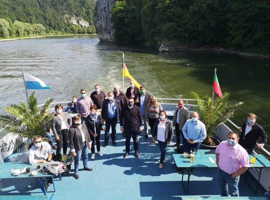 Eröffnung der Donauschifffahrtssaison nach Corona