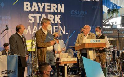 Politischer Frühschoppen mit dem Ministerpräsidenten Dr. Markus Söder am traditionellen Gillamoos-Montag